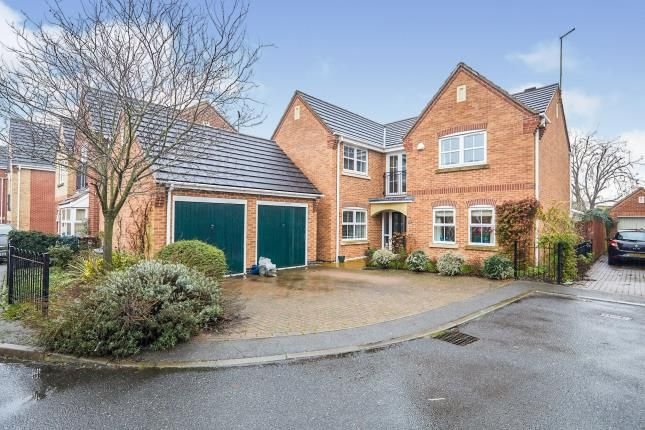Thumbnail Detached house for sale in Ferncroft Walk, Chellaston, Derby, Derbyshire