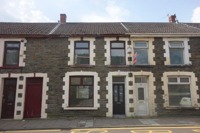Thumbnail Terraced house to rent in Ynyswen Road, Treorchy