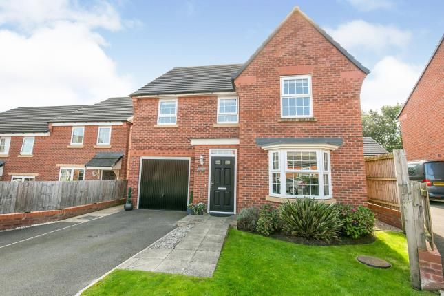 Thumbnail Detached house for sale in Cae Babilon, Higher Kinnerton, Chester, Flintshire