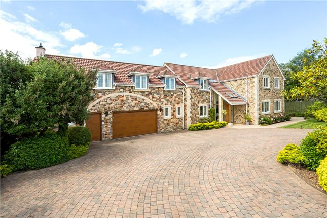 Thumbnail Detached house for sale in Church Road, Abbots Leigh, Bristol
