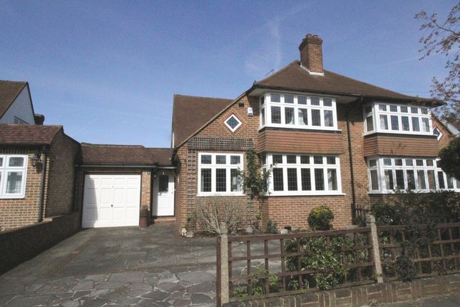 Thumbnail Semi-detached house for sale in Sackville Avenue, Hayes, Bromley