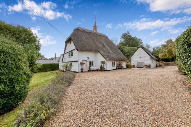 Thumbnail Detached house for sale in High Street, Abbotsley, St Neots