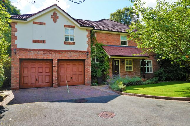Thumbnail Detached house to rent in Croft Road, Wilmslow