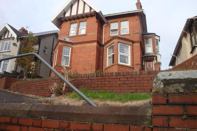 Thumbnail Flat to rent in Eversley Road, Sketty, Swansea