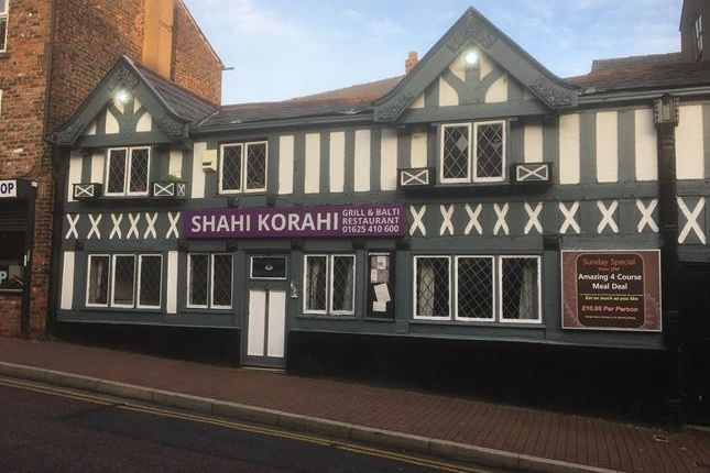 Thumbnail Retail premises for sale in 96 Mill Street, Macclesfield, Cheshire
