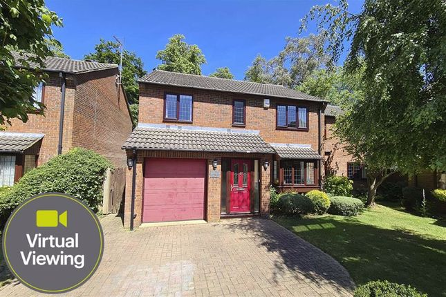 Thumbnail Detached house for sale in Redwood Drive, Wing, Leighton Buzzard