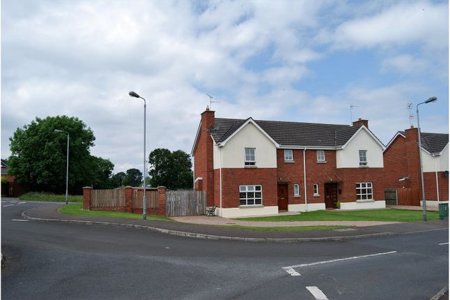 Thumbnail Semi-detached house for sale in Moyraverty Meadows, Craigavon