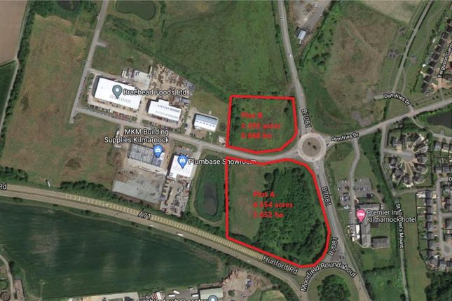Thumbnail Land for sale in Land At Moorfield North Industrial Park, Kilmarnock