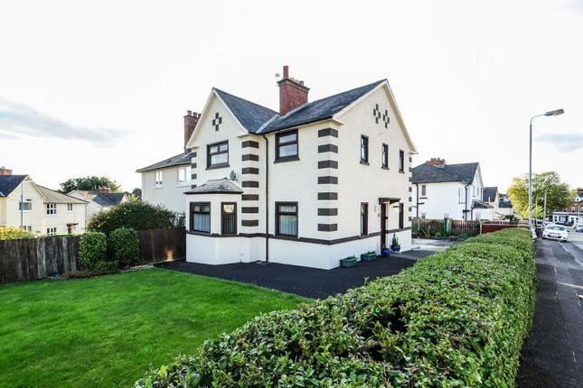 Thumbnail Semi-detached house for sale in Campbell Park Avenue, Belmont, Belfast