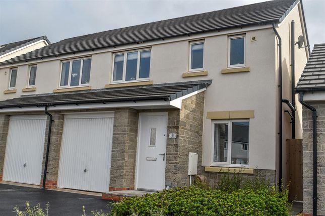 Thumbnail Semi-detached house for sale in Astazou Drive, Weston-Super-Mare