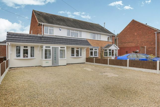 Semi-detached house for sale in Brindley Avenue, Ashmore Park, Wolverhampton