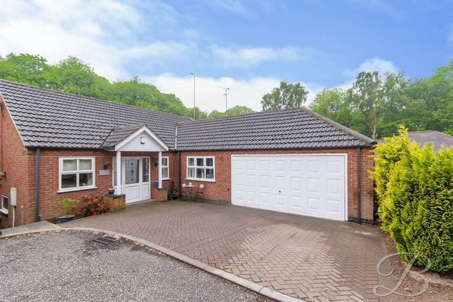 Thumbnail Bungalow for sale in Clipstone Drive, Forest Town, Mansfield