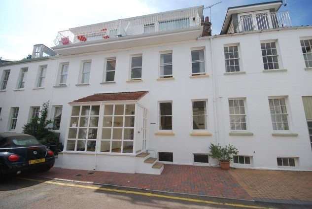 Thumbnail Town house to rent in Le Quai Bisson, St Aubin, St Brelade