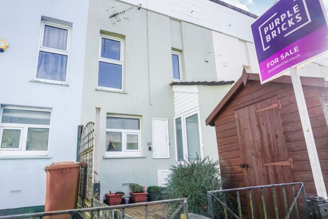 Thumbnail Terraced house for sale in Cunningham Road, Plymouth