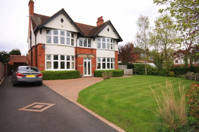Thumbnail Detached house for sale in Manor Avenue, Crewe