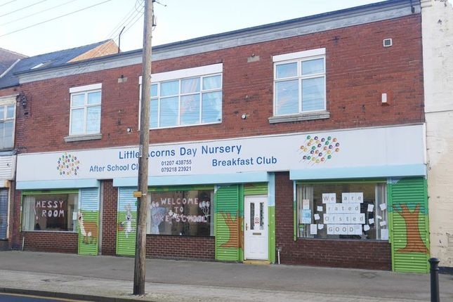 Thumbnail Commercial property for sale in Little Acorns Day Nursery, 216-218 Park Road, South Moor