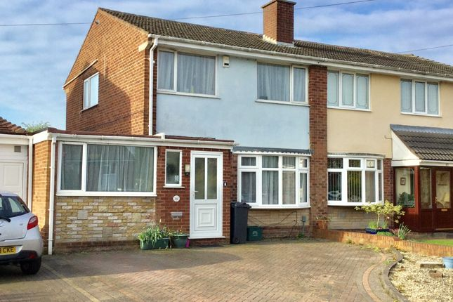 Thumbnail Semi-detached house to rent in Rose Drive, Brownhills