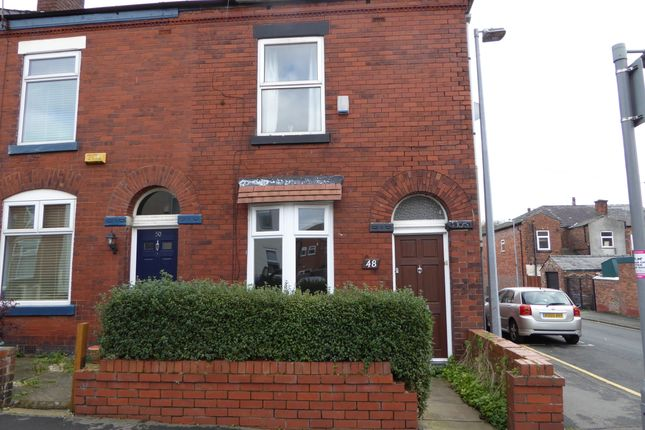 Thumbnail End terrace house to rent in Stafford Street, Swinton