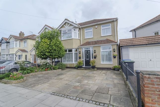 Thumbnail Semi-detached house for sale in Aldersbrook Avenue, Enfield