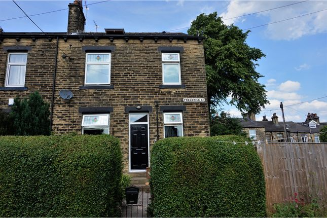 Thumbnail End terrace house for sale in Frederick Street, Farsley