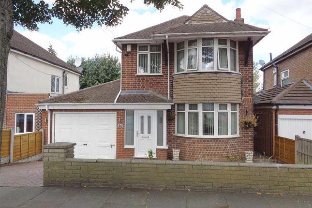 Thumbnail Detached house for sale in Ashville Avenue, Hodge Hill, Birmingham