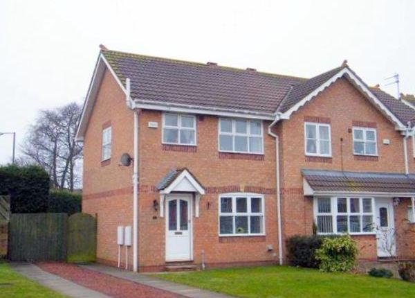 Thumbnail Semi-detached house to rent in Blenheim Gardens, Pegswood, Morpeth