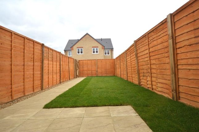 Rear Garden of Cornflower Close, Whittlesey, Peterborough PE7