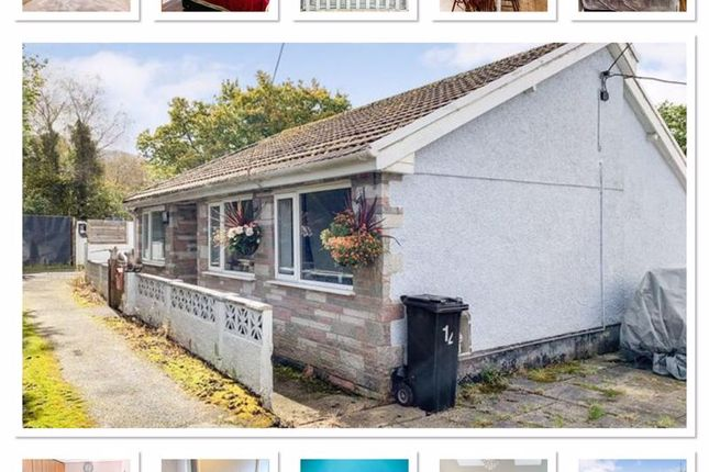 Thumbnail Bungalow for sale in Parish Road, Cwmgwrach, Neath