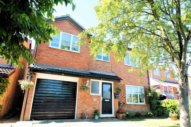 Thumbnail Detached house for sale in Beeston Avenue, Little Billing, Northampton