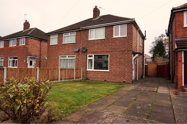 Thumbnail Semi-detached house for sale in Middleton Road, Solihull