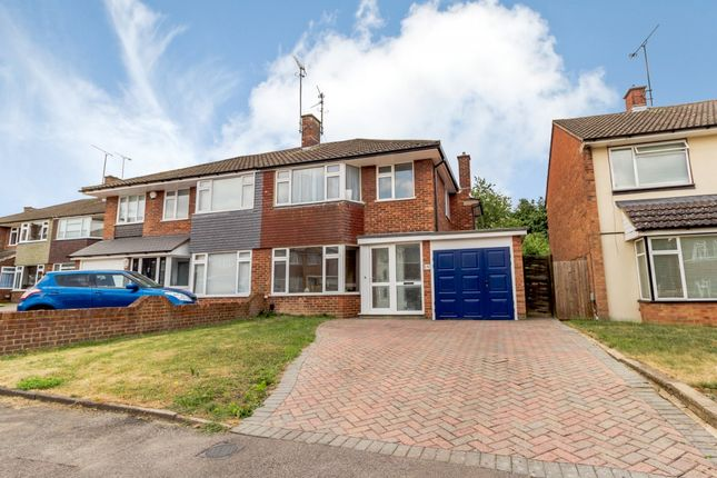 Thumbnail Semi-detached house for sale in Keswick Close, Dunstable, Bedfordshire