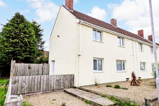 Thumbnail Semi-detached house to rent in Hebron Avenue, Pegswood, Morpeth