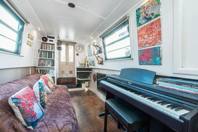 Thumbnail Houseboat for sale in Ice Wharf Marina, King's Cross