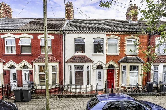Thumbnail Terraced house for sale in Pomeroy Street, Cardiff