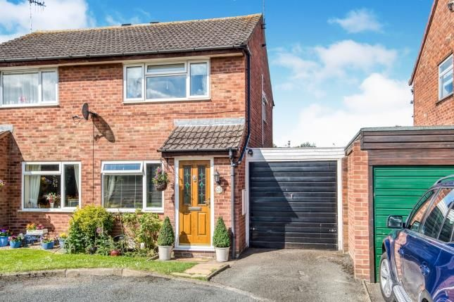Thumbnail Semi-detached house for sale in Laurel Avenue, Evesham, Worcestershire