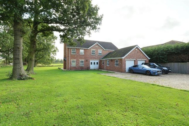Thumbnail Detached house for sale in Station Road, Moortown, Market Rasen