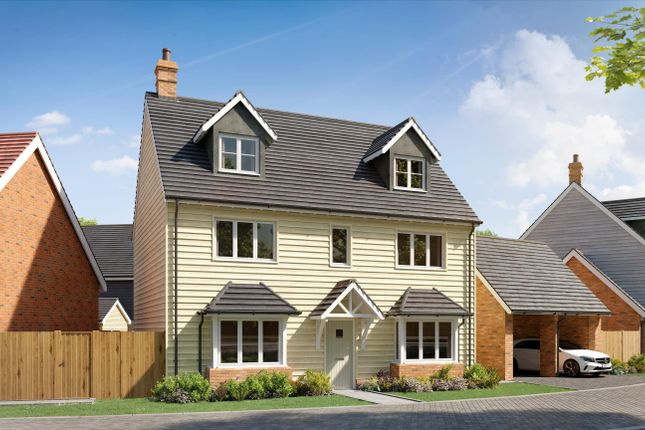 5 bed detached house for sale in The Moorhen, Waters Edge, Mytchett Road, Nr Camberley, Surrey GU16