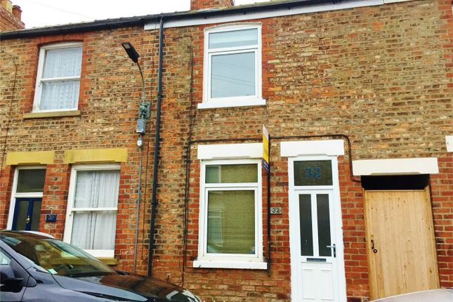 Thumbnail Terraced house to rent in Finsbury Street, Bishopthorpe Road, York