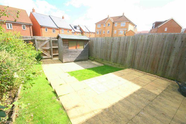 Rear Garden. of Campbell Lane, Pitstone, Bucks. LU7