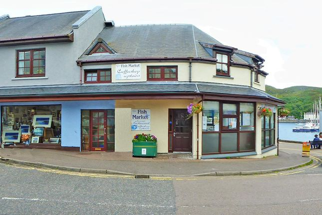 Thumbnail Commercial property for sale in The Seafood Restaurant, Coteachan Hill, Mallaig