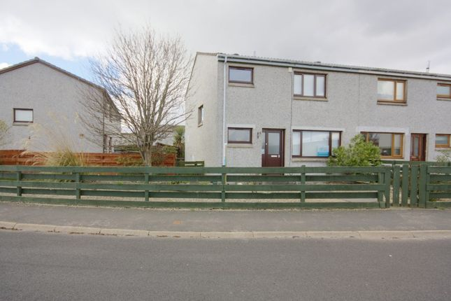 Thumbnail 3 bed semi-detached house for sale in 3 Muirfield Drive, Brora, Sutherland