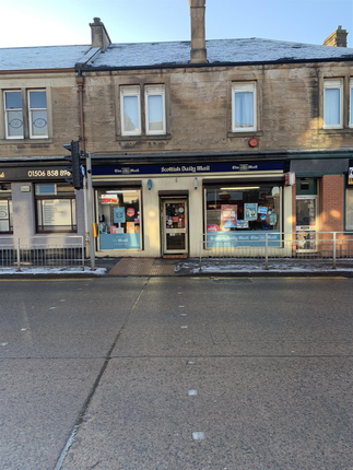 Thumbnail Retail premises for sale in 62-64 East Main Street Broxburn, West Lothian