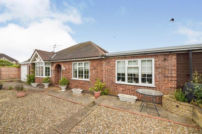 Thumbnail Detached bungalow for sale in Gloucester Avenue, Melton Mowbray