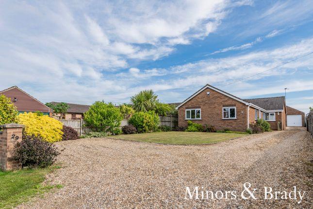 Detached bungalow for sale in Sandhole Lane, Little Plumstead, Norwich