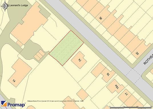 Thumbnail Land for sale in Kenilworth Road, St. Leonards-On-Sea
