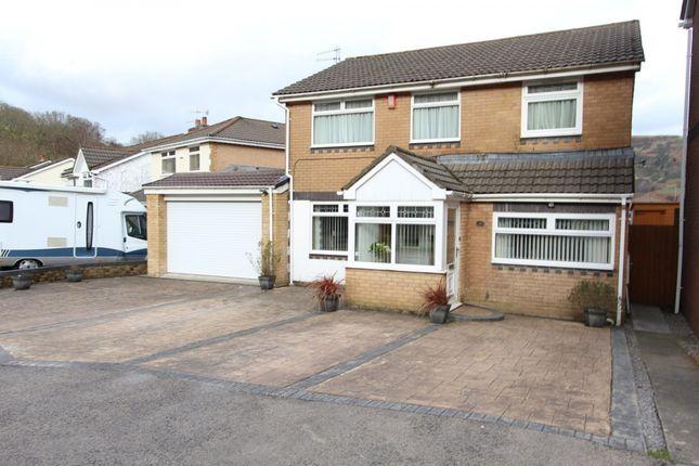 Thumbnail Detached house for sale in Dinam Park, Ton Pentre -, Pentre
