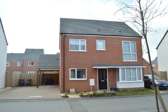 Thumbnail Detached house to rent in Centurion Crescent, Newcastle-Under-Lyme