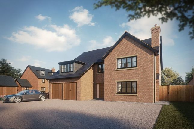 Thumbnail Detached house for sale in The Mynd, Norton In Hales, Market Drayton