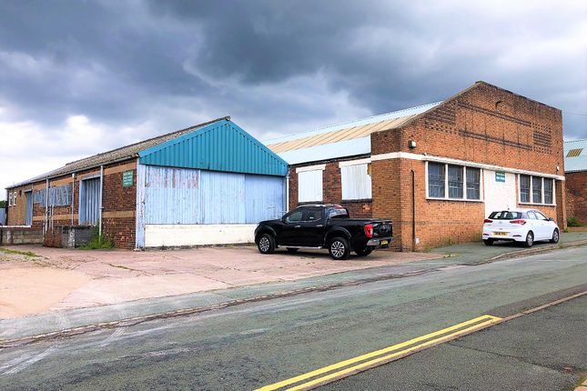 Thumbnail Light industrial for sale in China Street, Fenton, Stoke-On-Trent, Staffordshire