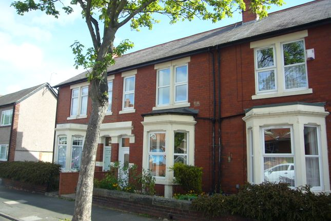 Thumbnail Terraced house to rent in Ventnor Gardens, Whitley Bay